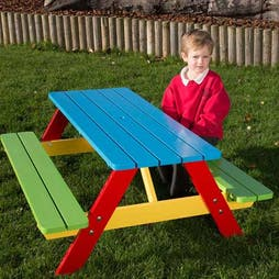 Playtime Nursery Picnic Table