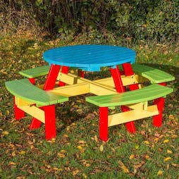 Playtime Junior Round Picnic Table