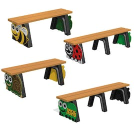 Mini Beast Themed Bench