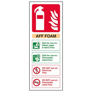 AFF Foam Fire Extinguisher