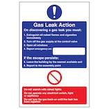 Gas Leak Action - Portrait