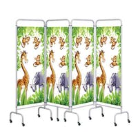 Sunflower Medical 4 Panel Jungle Screens