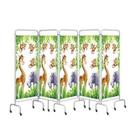 Sunflower Medical 5 Panel Jungle Screens