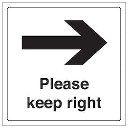 Please Keep Right