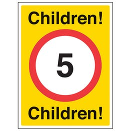 Children 5mph