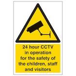 24 Hour CCTV In Operation School