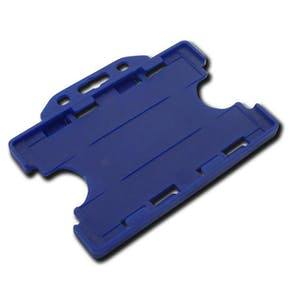 Double Sided Plastic Card Holder
