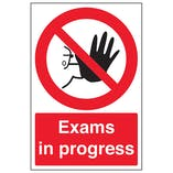 School Protocol Signs