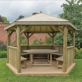Purbeck Gazebo - Traditional Timber Roof
