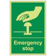 GITD Emergency Stop - Green