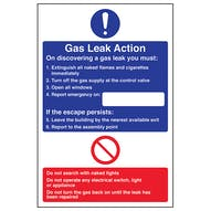 Gas Leak Action