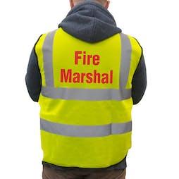 Hi-Viz Vest - Fire Marshal