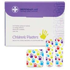 Dependaplast Children's Washproof Plasters