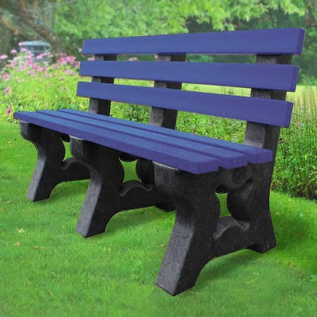 Park Seat With Back
