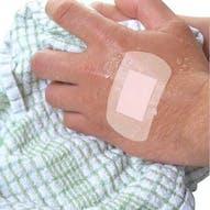 Pink Washproof Sterile Plasters