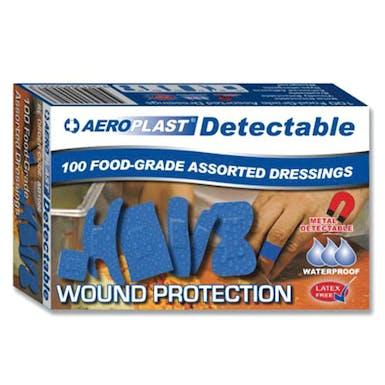 Aeroplast Blue Detectable Plasters