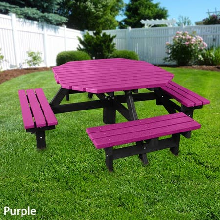 Octagonal Picnic Table
