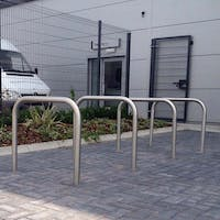 Sheffield Cycle Stands- Stainless Steel