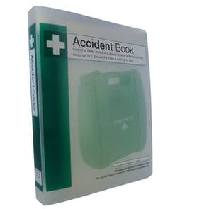Accident Record Book Storage Folder