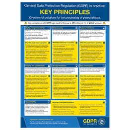 GDPR In Practice Poster - Key Principles