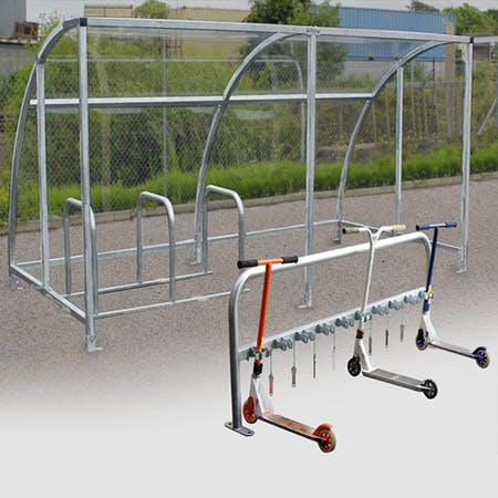 Kimmeridge Cycle/Scooter Shelter Bundle
