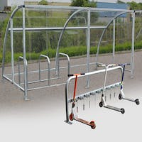 Canterbury Cycle/Scooter Shelter Bundle