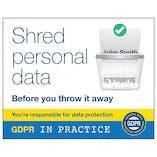 GDPR Sticker - Shred Personal Data