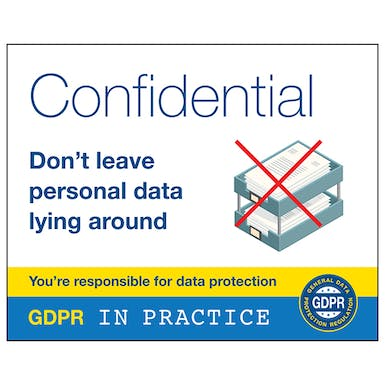 Don't Leave Personal Data Lying Around