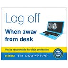 Log Off When Away From Desk