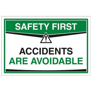Accidents Are Avoidable