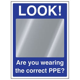 Look! Are You Wearing The Correct PPE?