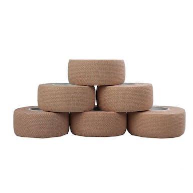 Brown Elastic Adhesive Bandages