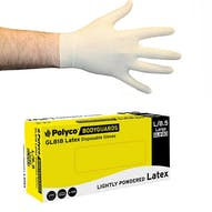 Bodyguards 4 Powdered Latex Gloves