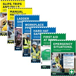 Construction Safety Posters Bundle - 7 Pack