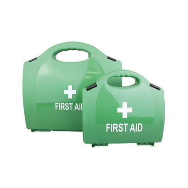 Empty Plastic First Aid Cases