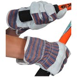 Economy Single Palm Leather Rigger Gloves