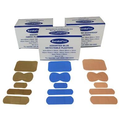 EurekaPlast Assorted Sterile Plasters