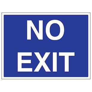 No Exit - Large Landscape