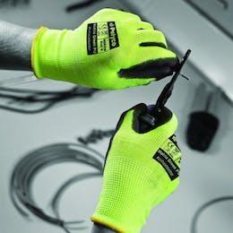 Polyco Tri-Colour Cut Resistant Gloves