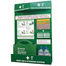 Workplace First Aid & Eye Wash Station