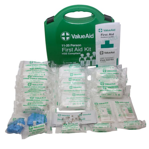 Standard HSE Compliant First Aid Kits & Refills