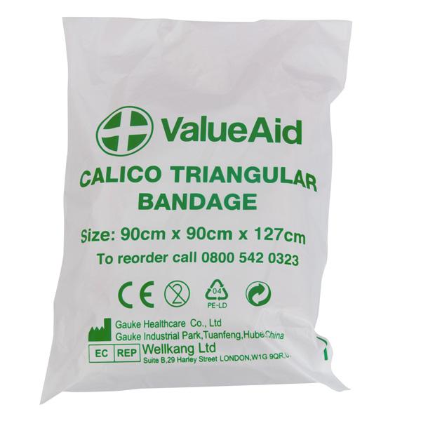 Value Aid Triangular Bandages