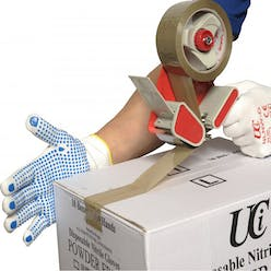UCI 13 Gauge Nylon PVC Dotted Gloves