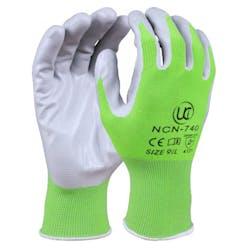 UCI NCN-740 Nitrile Green Gardening Gloves