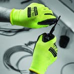 Polyco Tri-Colour Cut Resistant Gloves
