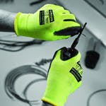Polyco Matrix Green PU Gloves