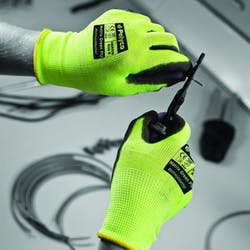 Polyco Matrix Green PU Gloves