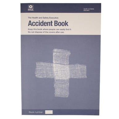 Official HSE Accident Book - 2018 Edition