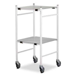 Mild Steel Trolleys - Removable Shelves