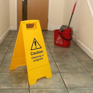 Double Sided Floor Signs